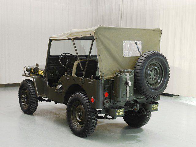 1951 Willys M38 Jeep Hyman Ltd Classic Cars Jeep Monster