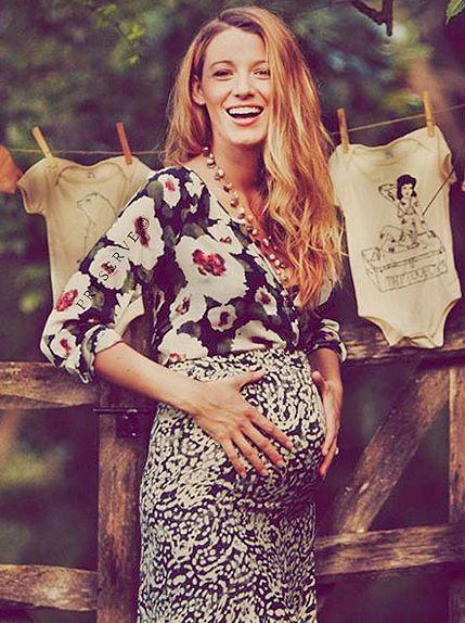 Blake Lively en splendeur à son baby shower   HollywoodPQ.com