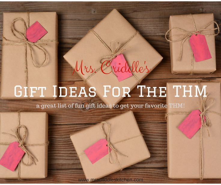 Mrs  Criddle s Gift Ideas for the THM  A guide full of ideas for your72 best Christmas Gifts images on Pinterest   Gifts  Christmas  . Good Christmas Gifts For The Kitchen. Home Design Ideas