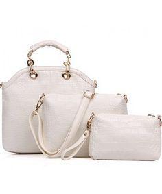 Tas Import ( 3 in 1 ) P950-BEIGE tas Import Murah Merek Berkualitas Tas Replika Import Asli China ( OEM ~ HIGH GRADE/HIGH QUALITY ) BAG ( 3 in 1 ) -- Material : PU Leather Length:   31 cm Height:    29cm Depth:      11cm Bag Mouth:  Zipper Long Strap:   Yes Weight: 1kg   ..