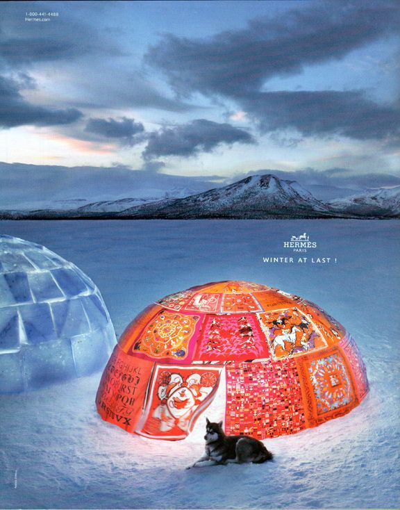 ❥ Baby it's cold outside  Hermes 2011