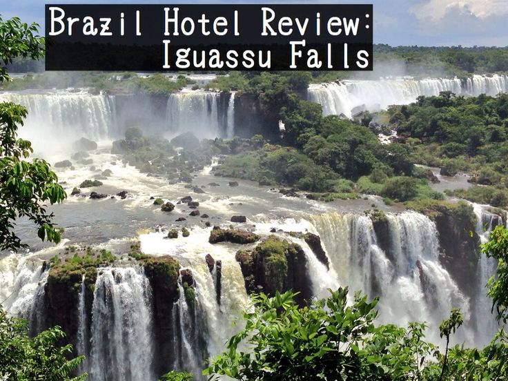 Check in for a little bit of luxury after an active day at the park in Iguassu Falls, Brazil