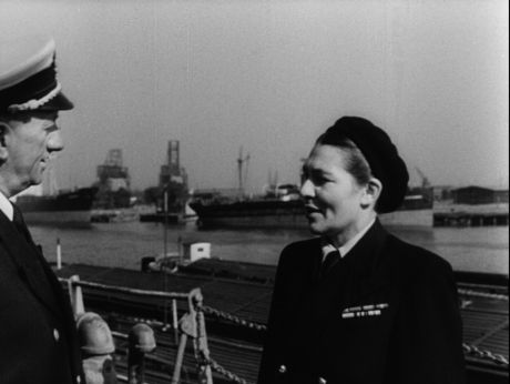 Woman - ship's captain (1948) [video] Repozytorium Cyfrowe Filmoteki Narodowej #woman #power #gender