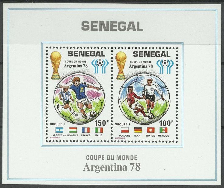 Senegal Sport Coupe du Monde Football Argentine Fifa World Cup Fußball ** 1978  | eBay