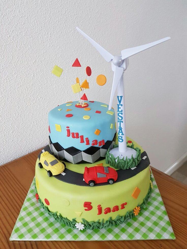 Windmolen taart