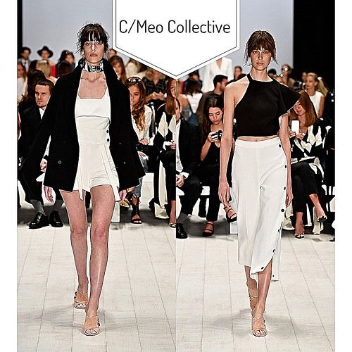 MBFWA Day4- C/meo Collective full of floaty fabrics, lush '20s style fringing, and crisp, architecturally-inspired silhouettes that are the label's signature | Flickr - Photo Sharing!