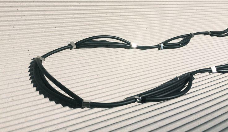 Collana in caucciù colore Nero DNA ONE di URBANDi su Etsy