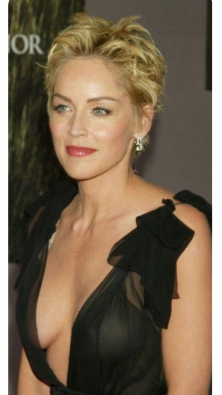 Sharon Stone Fryzury Aktorki I Piękne Kobiety