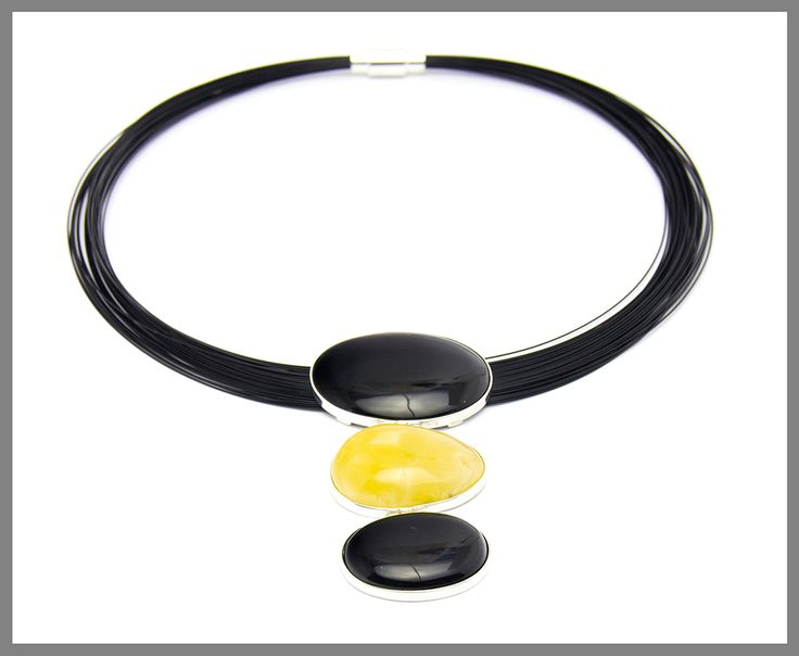 Amber Onyx Necklace
