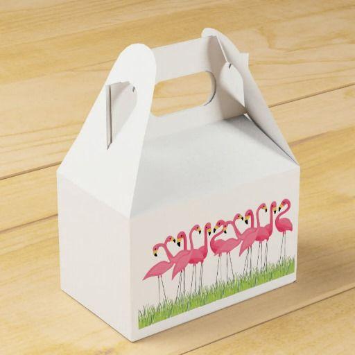 Flamencos rosados cubanos. Regalos, Gifts. #caja #box