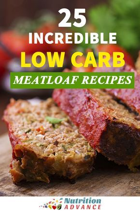 25 Incredible Low Carb Meatloaf Recipes | Meatloaf is a classic dish, but just because you're trying to limit the carbs doesn't mean it's off the menu. Here are 25 incredible low carb meatloaf recipes. These dishes include all sorts of different ingredients and themes - Italian meatloaf? Check! Mexican meatloaf? Check! Three-cheese and chive stuffed meatloaf? Check! There's a meatloaf for all tastes, and they are all healthy, gluten-free, sugar-free, and suitable for low carb and keto…