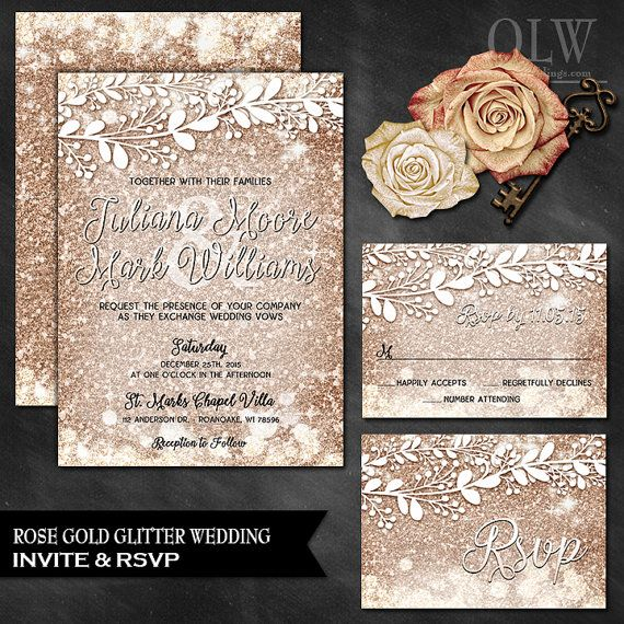 Hey, I found this really awesome Etsy listing at https://www.etsy.com/listing/257978342/rose-gold-wedding-invitation-rsvp-card