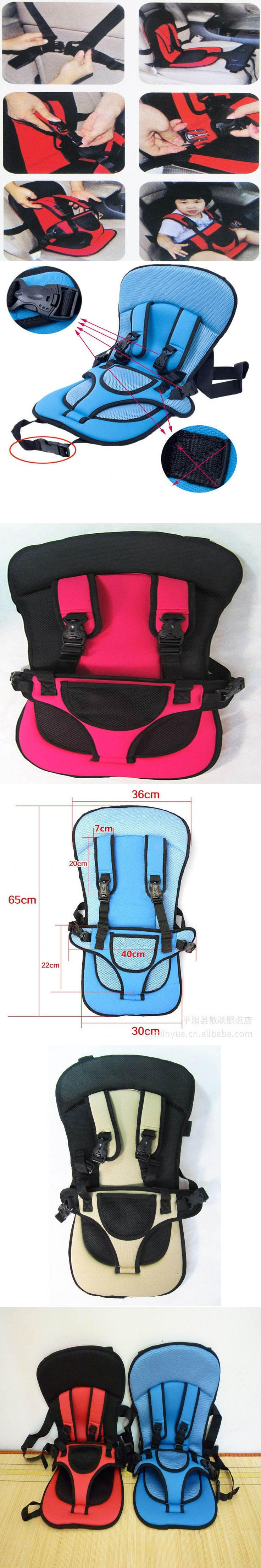 2015 New 0-4 Years Old Baby Portable Car Safety Seat Kids Car Seat Car Chairs For Children Toddlers Car Seat Cover Harness