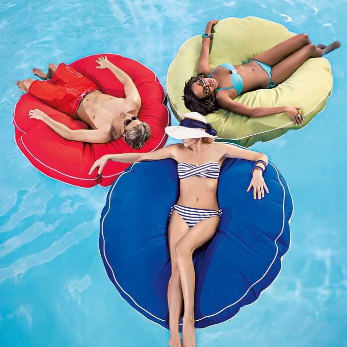 Pool pillows! They even have larger rectangle ones!