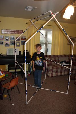 Strong Armor: Fun with PVC Pipe