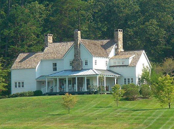 Farmhouse at Blackberry Farm/windows/chimneys/siding
