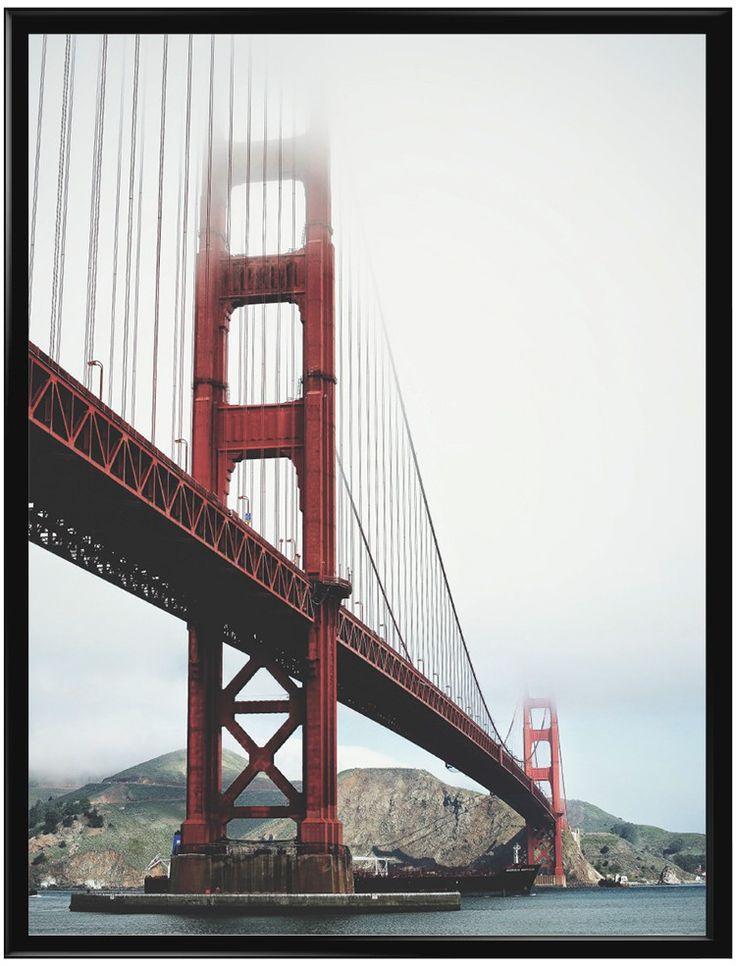 Golden Gate-bron är en hängbro över sundet Golden Gate i Kalifornien, USA. Bron…