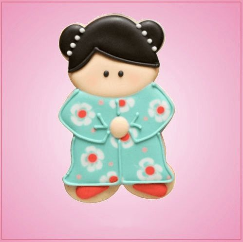 China Doll Cookie Cutter