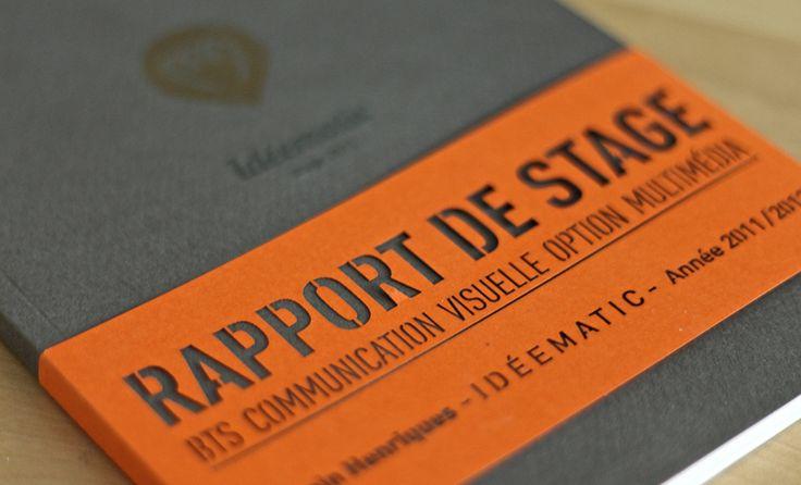 rapport de stage 2012 – idéematic   Romain Henriques   Graphiste Webdesigner Intégrateur – Freelance