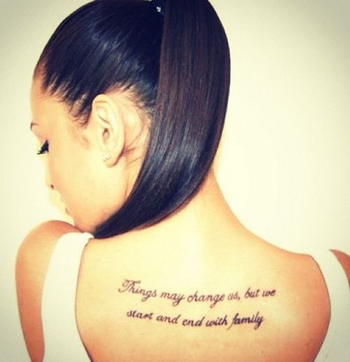 Really love this tat, maybe not in this spot. Meaningful