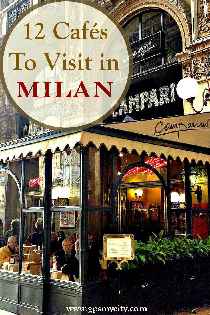 The cafe scene in Milan is a delight! Follow this guide to discover 12 cafes that any traveler has to visit!