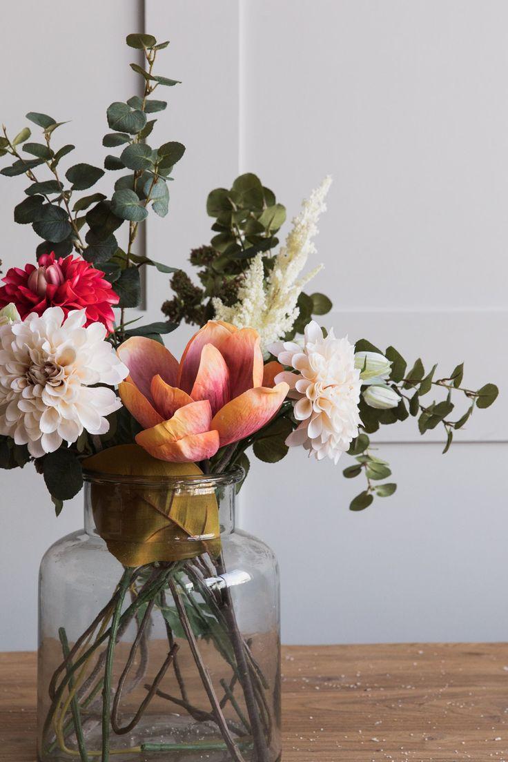 15 Charming Floral DIY Ideas Fake flowers decor, Fake