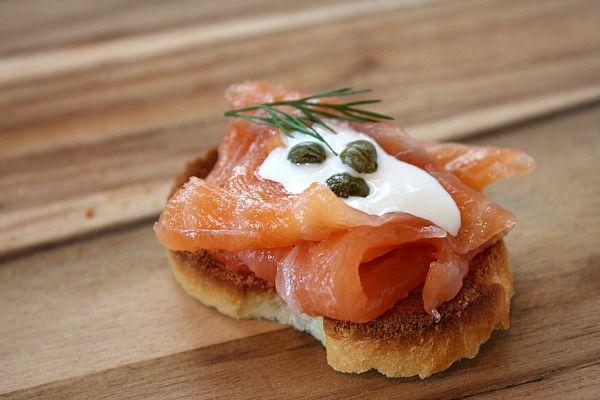 How to Make Norwegian Salmon Gravlax by Recipe Girl.