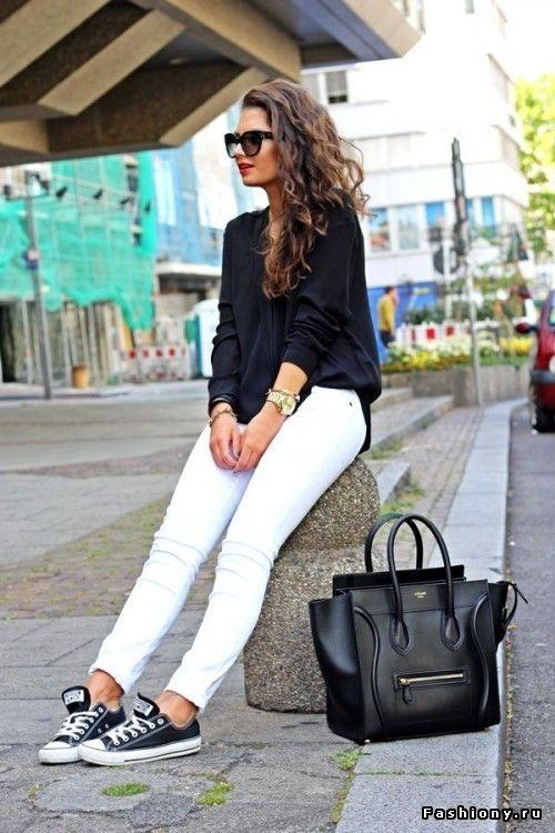 Белые брюки!
