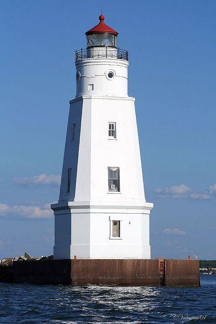 Ashland Harbor Breakwater Lighthouse Ashland, Ashland County, Wisconsin