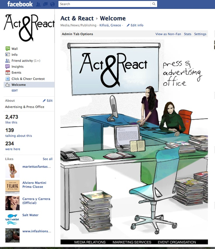 Join our Facebook page -->    http://www.facebook.com/pages/Act-React/174789932565453?sk=app_153284594738391