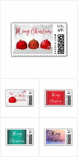 Merry #Christmas #Postage #Stamps