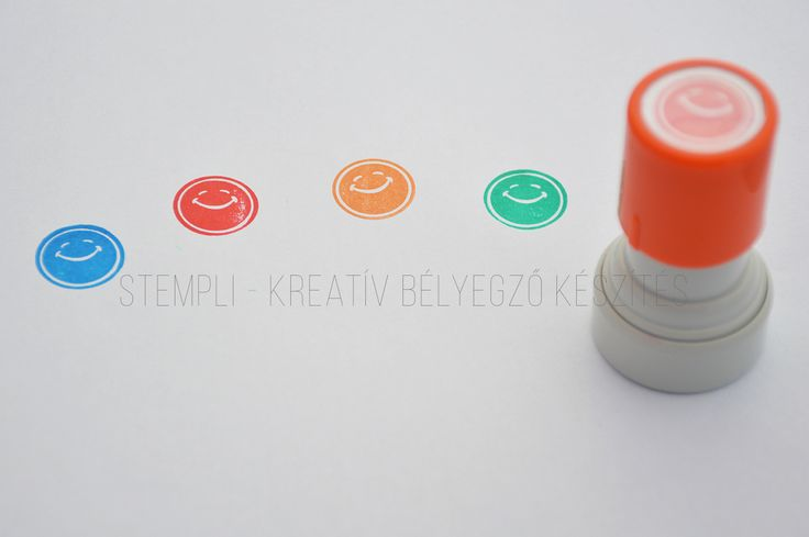 smile stamp / flash bélyegző