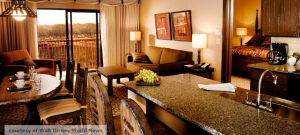 Walt Disney World Animal Kingdom Lodge - One Bedroom Disney Vacation Club Villa Savannah View courtesy of WDW News