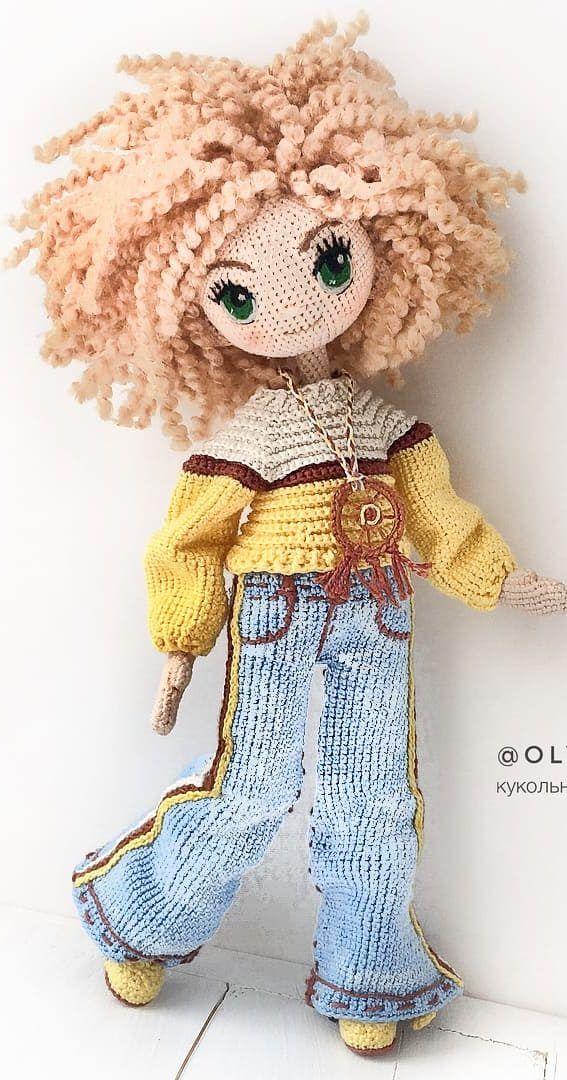 Crochet doll PATTERN, AMIGURUMI pattern, amigurumi doll pdf ...   1080x567