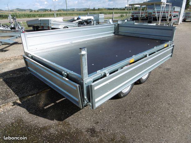 Remorque 750kg ptac en 2 essieux roues sous caisse Equipement Auto Tarn-et-Garonne - leboncoin.fr