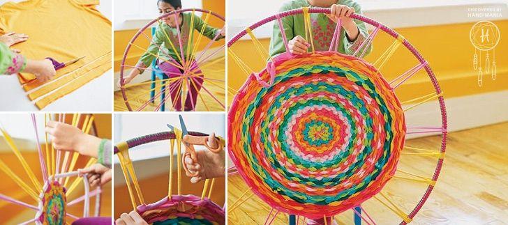 Hula Hoop T-shirt Rug