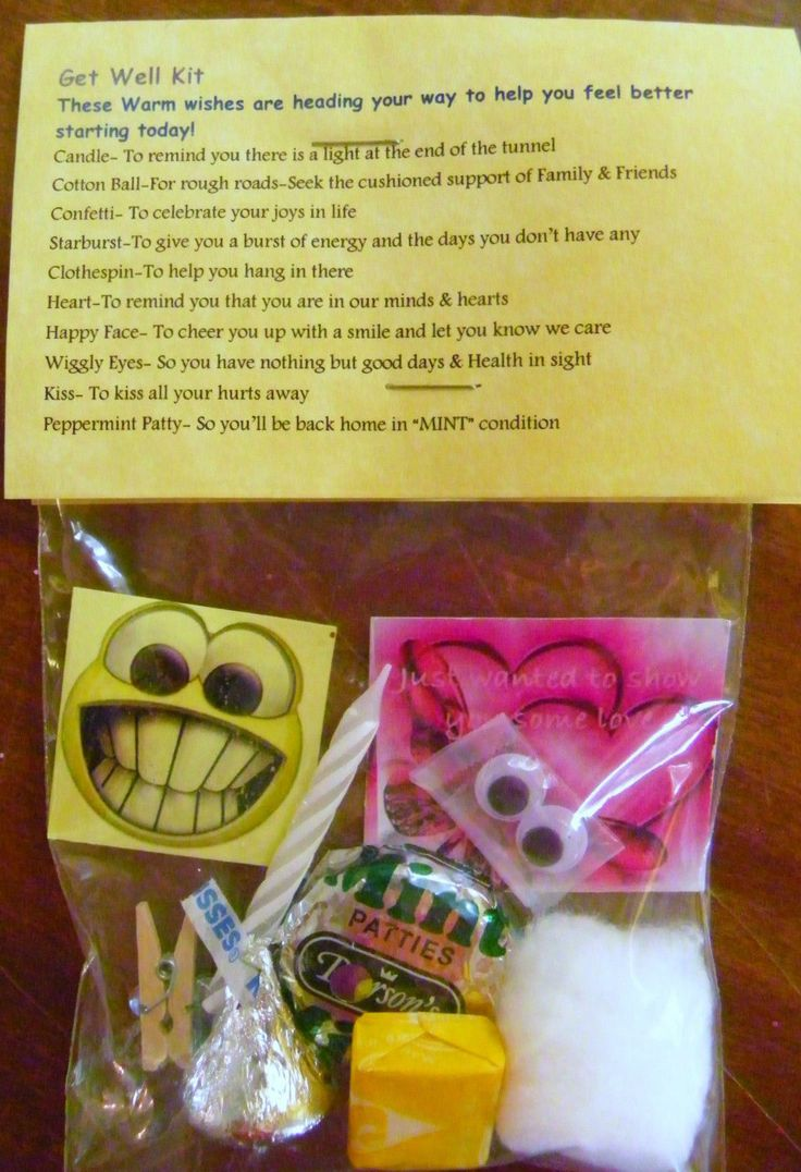 Best 25 get well gifts ideas on pinterest get well gift for Unusual get well gifts