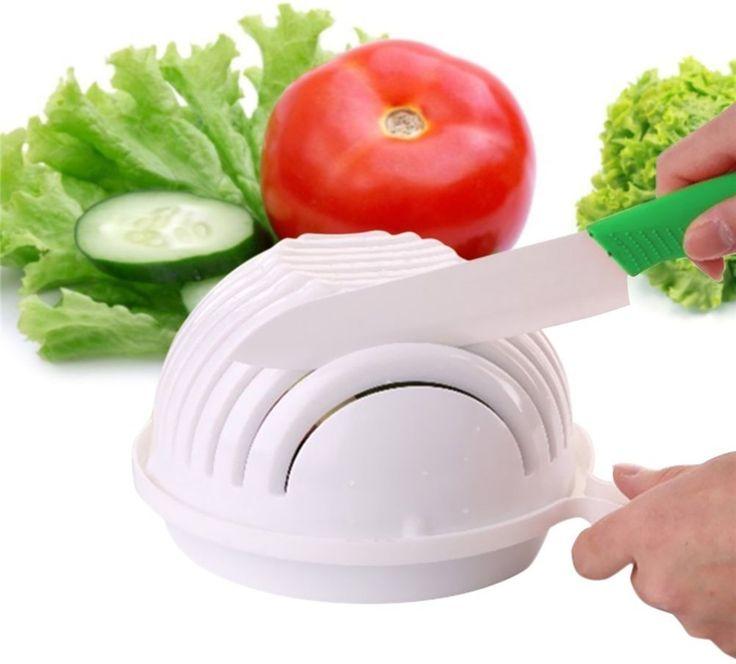 Friss saláta nem időigényes munka, csupán csak 1 percezzel a praktikus konyhai eszközzel! A...-Akciós ár:1490 Ft