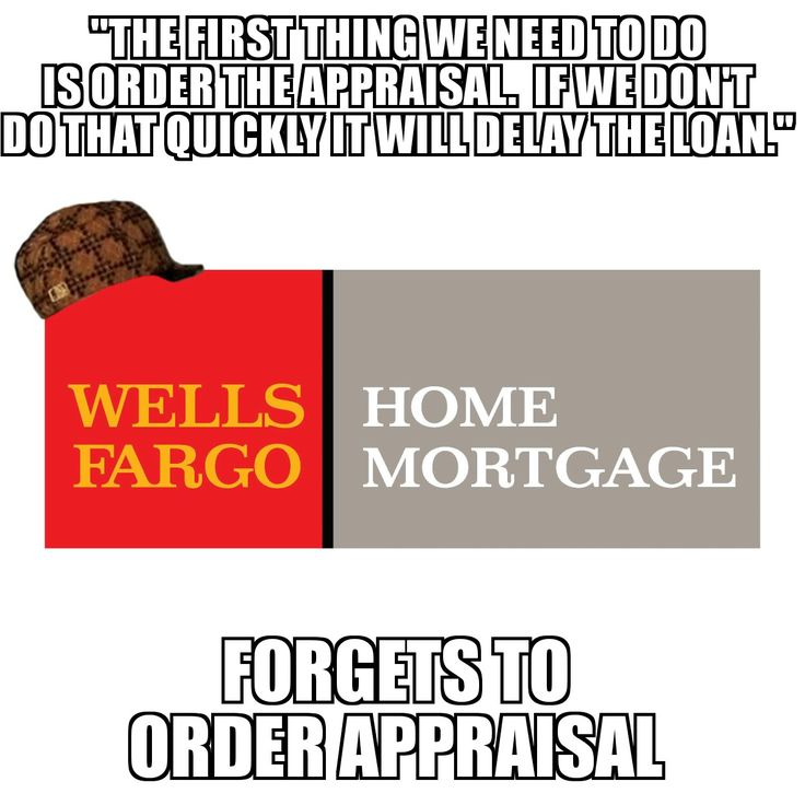 Adventures with Wells Fargo Home Mortgage Part 3: they were getting irritated I kept asking if this had been done yet...