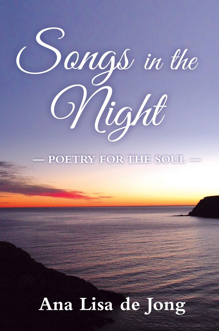 """Ana Lisa de Jong's poetry book, """"Songs in the Night"""" is a personal devotional directed from the heart of the poetess to her Creator. She tells the story of a year in a voice which rings with elated anticipation of the sacredness in all things that will all be reunited in the days to come."""