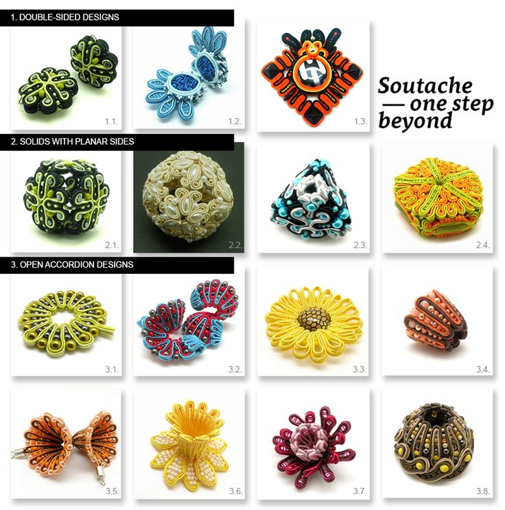 "Digital manual: ""Soutache – one step beyond"" by Tender December, Alina Tyro-Niezgoda Two language versions: polish and english To buy / aby kupić: http://tenderdecember.eu/shop/produkt/digital-manual-soutache-one-step-beyond/"