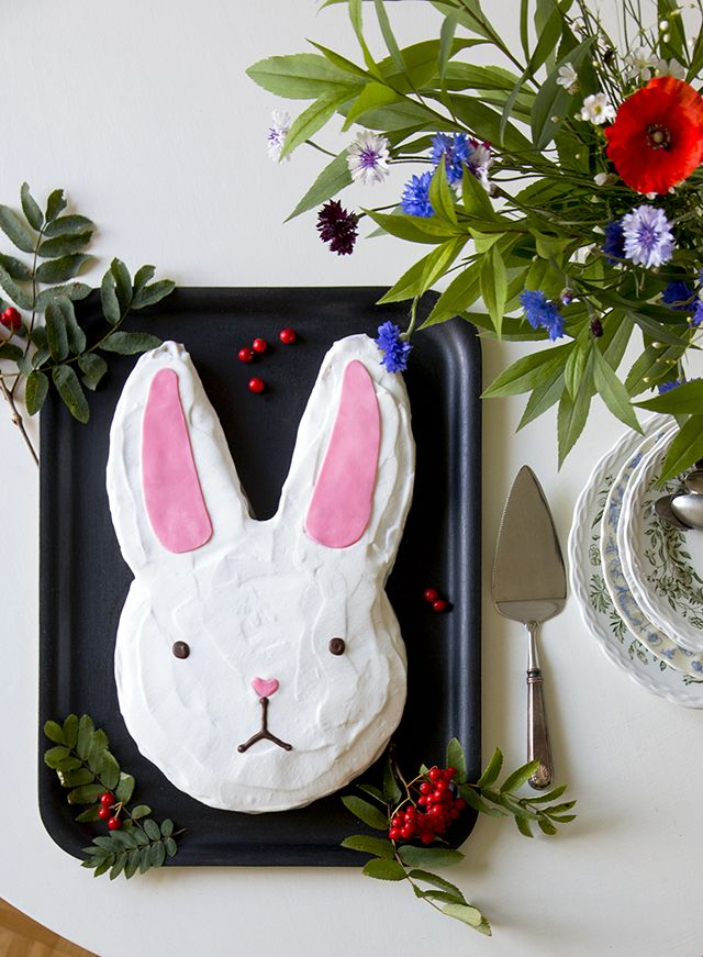 Cake decoration / Ideas for easter / carrot cake / bunny