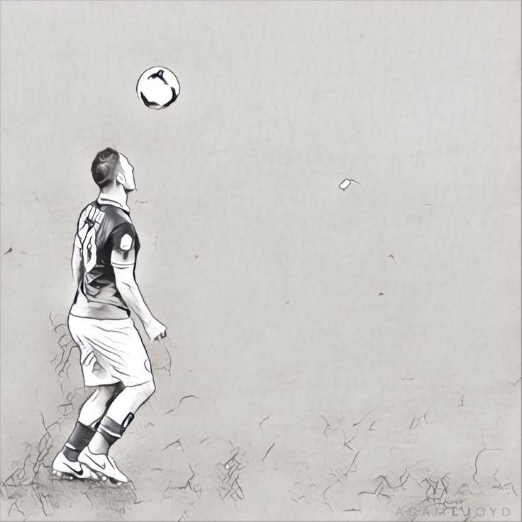 Adam Lloyd ci presenta le sue creazioni, in stile minimalista, che ritraggono alcuni dei giocatori della Roma...