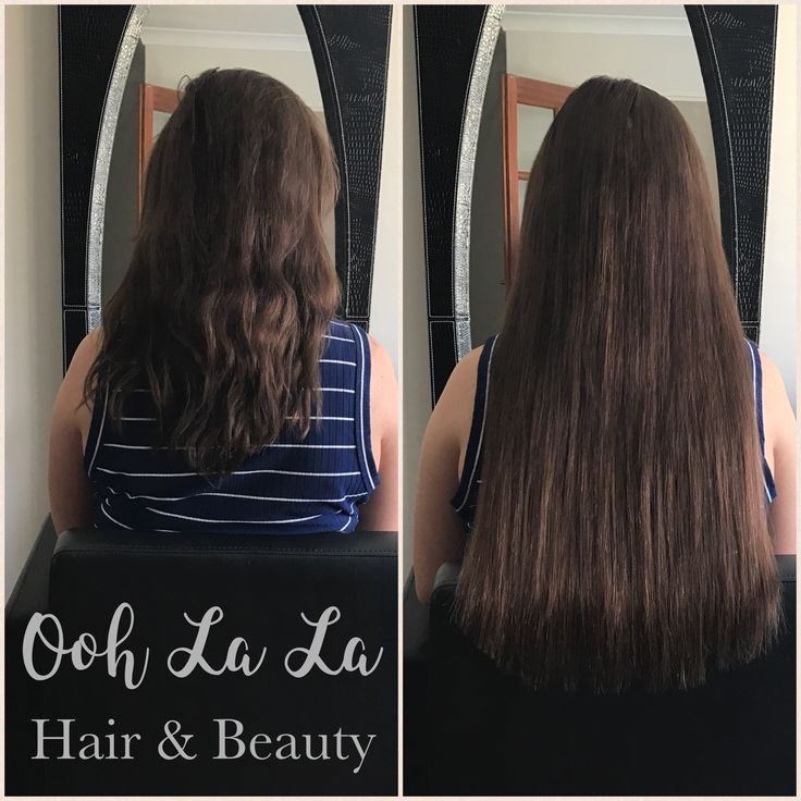 Indian remy human hair extensions - Micro beads 💕
