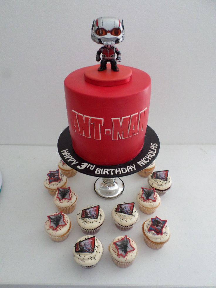 Ant Man Cake Design : 17 Best images about Villa Chateau-Birthday cakes on ...