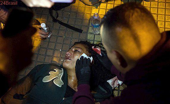 Violência em protesto em SP : Manifestação contra redução de passe livre estudantil tem confusão