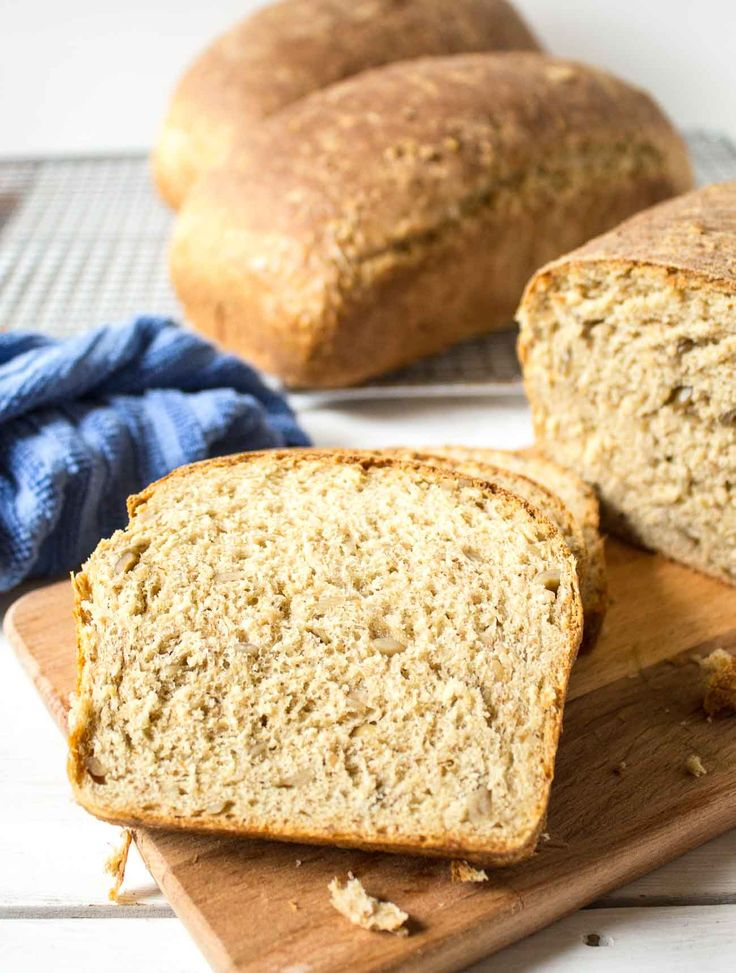 Multigrain bread made with whole wheat flour, sunflower seeds, and cracked wheat. Great for sandwiches or toasted with butter and jam.