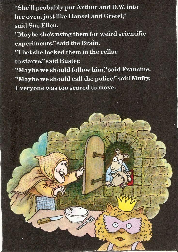 32 best Fall Halloween Kids Book Arthurs Halloween images on ...