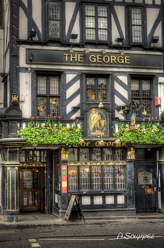 The George Pub on Strand, London