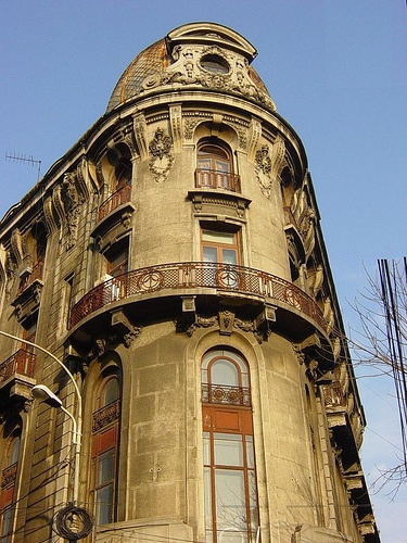 Bucharest buildings.